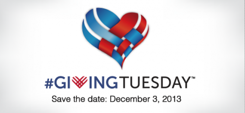 Giving Tuesday feature banner 2013