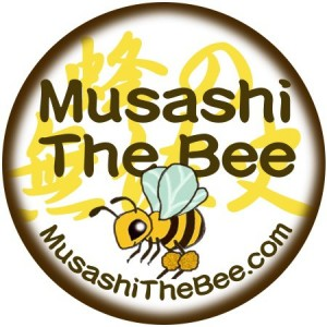 Musashi the Bee Logo