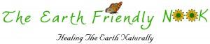 The Earth Friendly Logo w. slogan large print