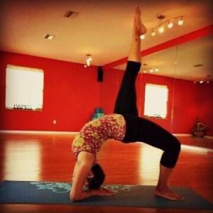 Liz Yoga Photo