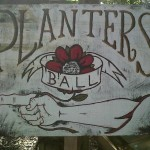 Planters Ball Sign