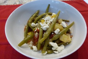 Greek stewed Green Beans