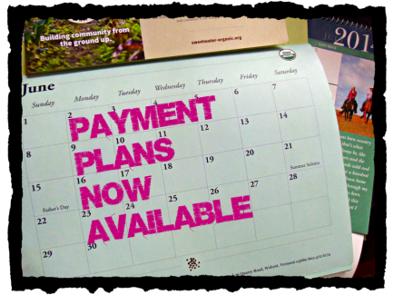 Payment Plans Now Available