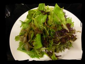 Garden Salad Framed