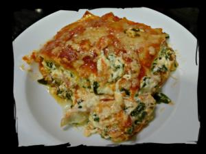 Veg Lasagna Framed