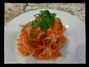 Kohlrabi, Carrot, Radish