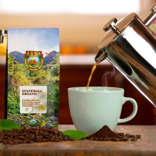 Java Planet French Press coffee